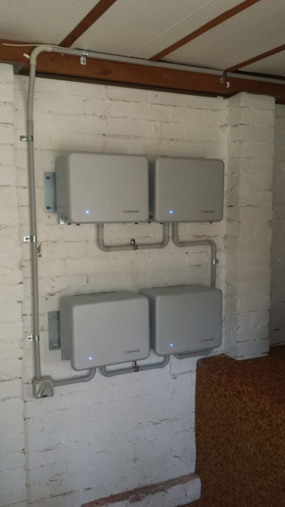 4 Enphase Batteries Installed in Blackheath