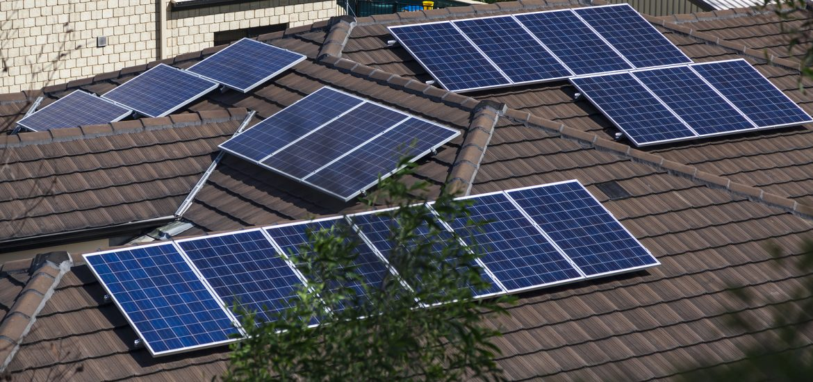 Flexible Solar Array With Microinverters