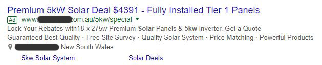 Solar Power Price Sydney