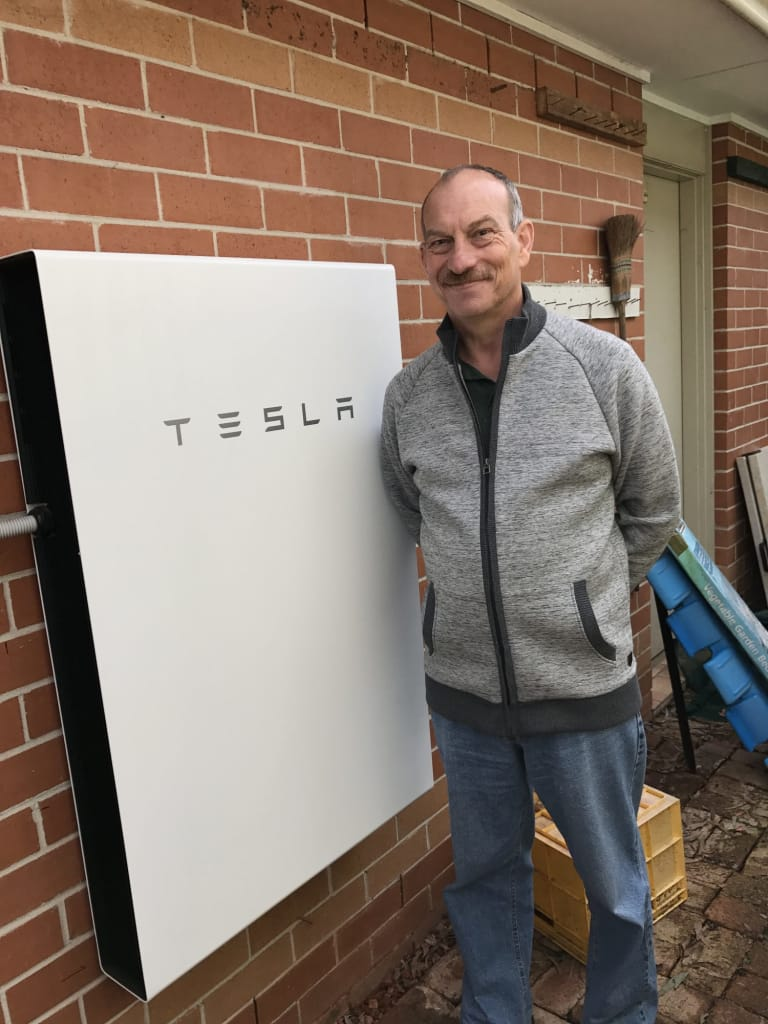 Solaray Energy Happy Customer Tesla Powerwall 2 Installation