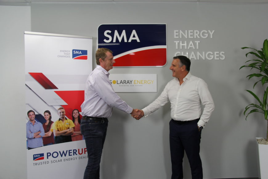 Solaray a foundation partner for the SMA PowerUP Trusted Solar Energy Dealer Network